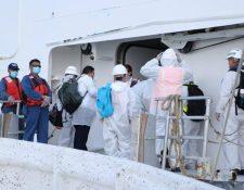 Los guatemaltecos permanecieron 70 días en altamar. (Foto Prensa Libre: Dony Stewart)