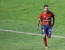 El delantero mexicano Carlos Kamiani Félix fue clave para el título 30 de Municipal. (Foto Prensa Libre: Hemeroteca PL)
