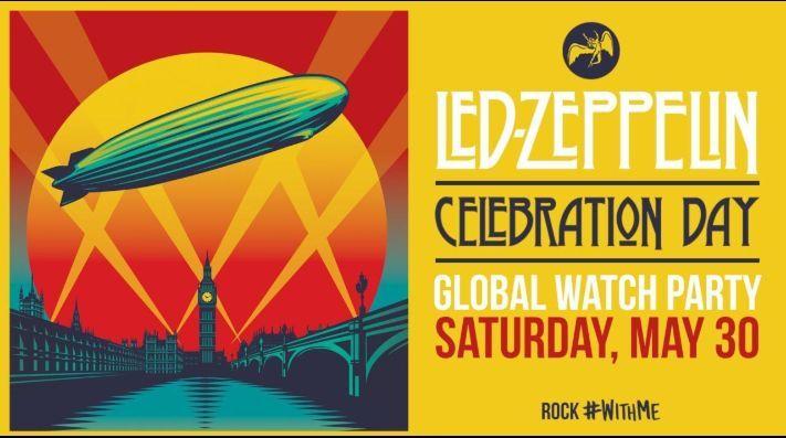 """Led Zeppelin transmitirá en línea su icónico concierto """"Celebration Day"""""""