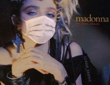 La estrella del pop Madonna ha causado sorpresa en una publicación en su cuenta de Instagram relacionada al coronavirus. (Foto Prensa Libre: Madonna)