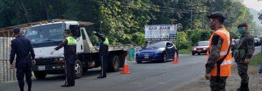 Pobladores del área central de Malacatán, San Marcos, permanecerán bajo vigilancia debido a un brote de coronavirus. (Foto Prensa Libre: Municipalidad de Malacatán)