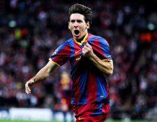 Lionel Messi empezó hace 15 años su carrera pletórica. (Foto Prensa Libre: Fc Barcelona)