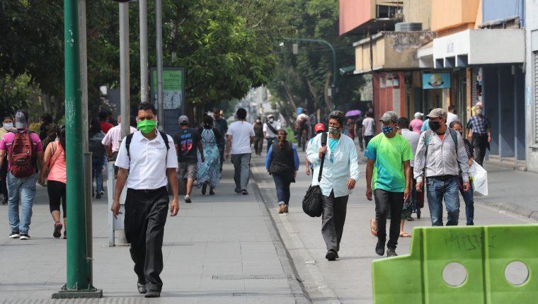 Guatemala experimentó una sensible caída en el segundo trimestre del año de -9.6% en la economía por el confinamiento, confirmó el Banguat. (Foto Prensa Libre: Hemeroteca)