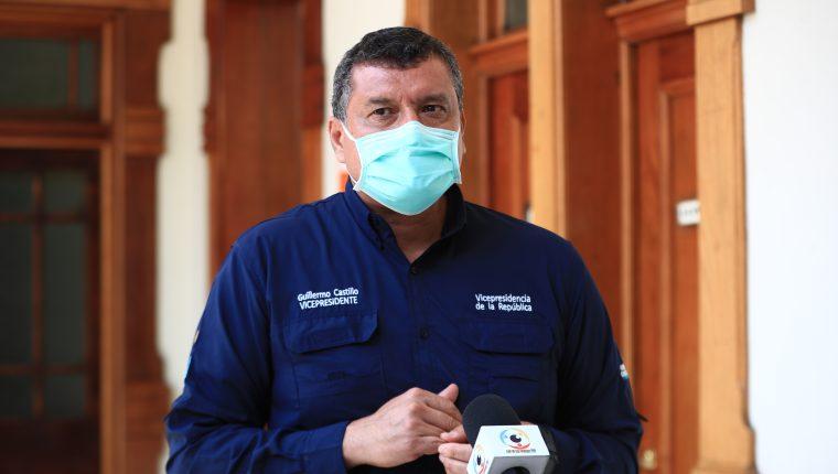 Vicepresidente Guillermo Castillo (Foto Prensa Libre: Hemeroteca PL)