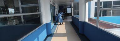 El Hospital de Villa Nueva atiende casos severos y críticos de covid-19. (Foto Prensa Libre: Hemeroteca PL)