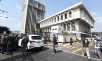 Los jueces y magistrados temen contagiarse de covid-19, mientras laboran. Foto Prensa Libre: Érick Ávila