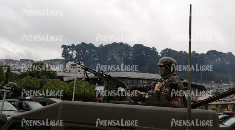 Estado de Sitio en Sololá permitiría detectar grupos del crimen organizado