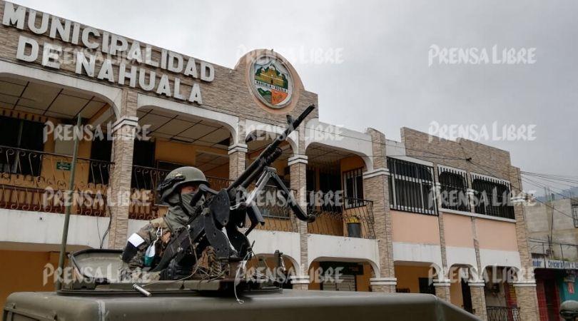 Amplían por 30 días más el estado de Sitio en Nahualá y Santa Catarina Ixtahuacán