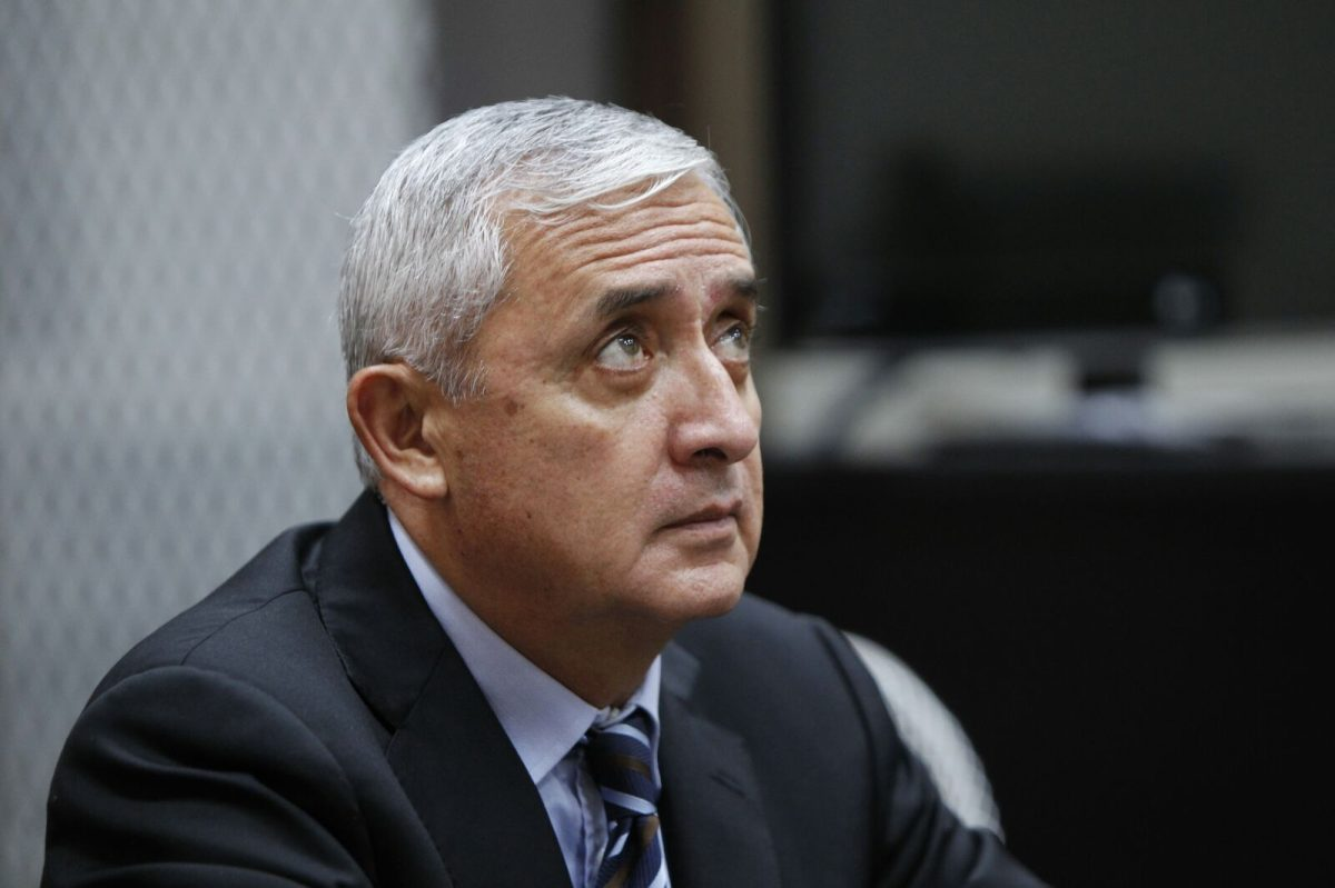 Expresidente Otto Pérez Molina pasará la Navidad en la cárcel de Mariscal Zavala