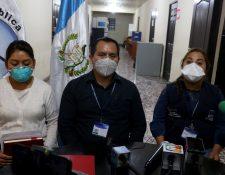 Funcionarios del Área de Salud de Huehuetenango, confirman el primer fallecido por coronavirus en San Pedro Necta, Huehuetenango. (Mike Castillo)