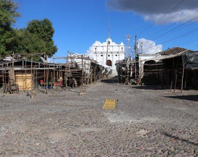 El Área de Salud de Quiché  confirmó el primer caso de coronavirus, en un hombre de 52 años.  (Foto Prensa Libre: Héctor Cordero)