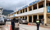 El primer caso de coronavirus en la Región Ixil de Quiché se registró en Nebaj en un hombre que viajo por comercio a Guatemala (Foto Prensa Libre: Héctor Cordero)