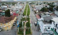 El nuevo bulevar y plaza en Ipala conto con apoyo de la Embajada de Israel en Guatemala. (Foto Prensa Libre: Dony Stewart)