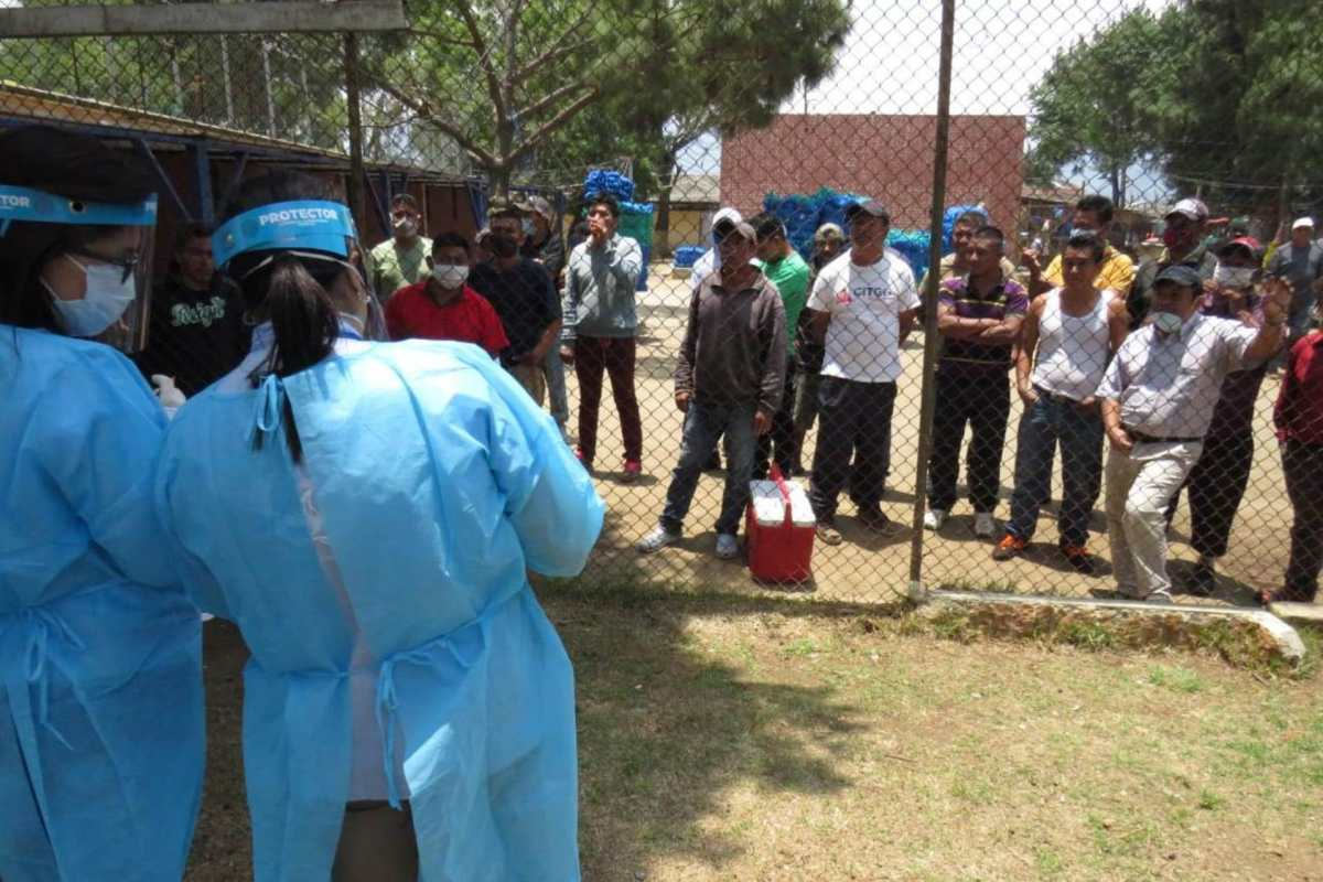 Relatores consideran que las cárceles de Quetzaltenango son vulnerables a contagios de covid-19