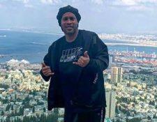 Ronaldinho continúa detenido en un hotel en Paraguay. (Foto Prensa Libre: Instagram @ronaldinho)