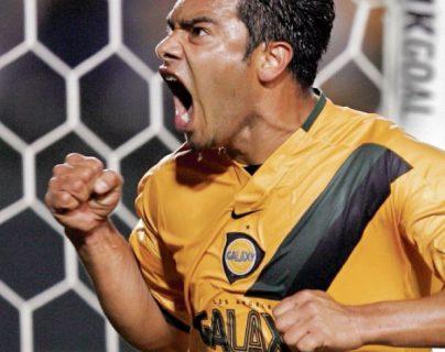 Carlos 'el Pescado' Ruiz vivió sus mejores años con el Galaxy de Los Ángeles. (Foto Prensa Libre: Hemeroteca PL)