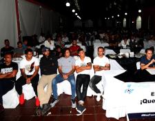 El Sindicato de Futbolistas Profesionales está dispuesto a pelear por el derecho de sus afiliados. (Foto Prensa Libre: Hemeroteca PL)