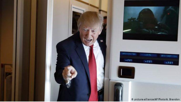 Donald Trump, presidente de Estados Unidos. (Foto Prensa Libre: DW).