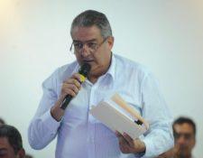 Jorge Mario Véliz siempre ha estado ligado a la polémica en el futbol. (Foto Prensa Libre: Hemeroteca PL)