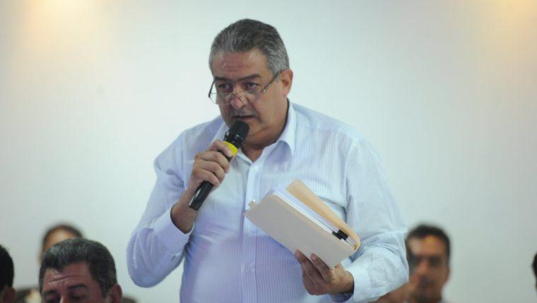 """Gerardo Paiz: """"Jorge Mario Véliz me asesora en lo personal y yo le pago su salario"""""""