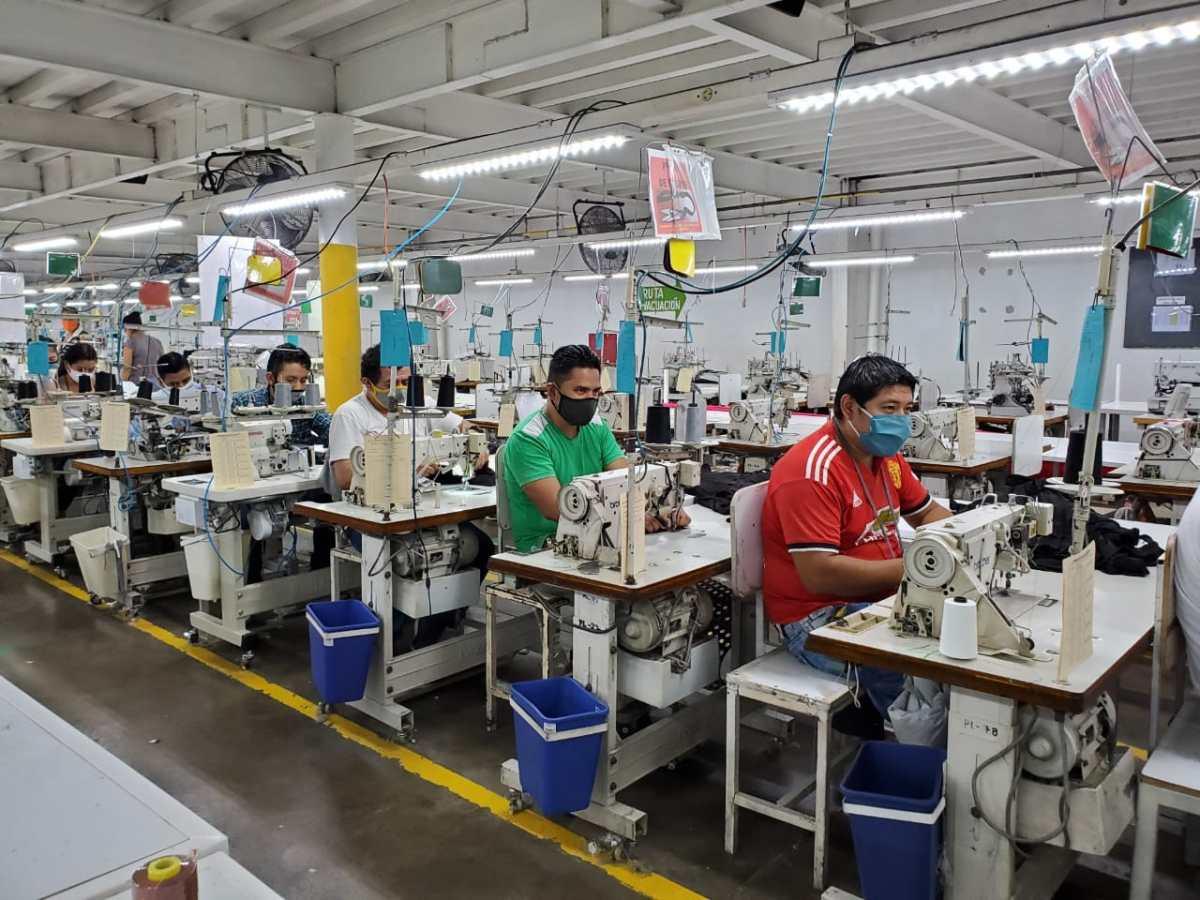 Coronavirus: Así es el protocolo sanitario que aplican las maquilas de exportación en Guatemala