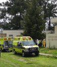 Trasladan pacientes con covid-19 al hospital San Vicente. Foto: cortesía