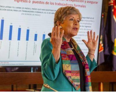 Alicia Bárcena es la directora ejecutiva de la Cepal. (Foto Prensa Libre: DW)