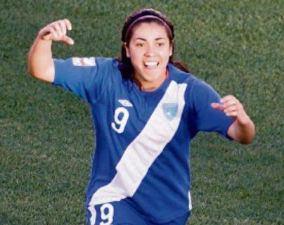 Ana Lucía Martínez asegura que la Selección Nacional le abrió las puertas para ir a jugar al extranjero. (Foto Prensa Libre: Hemeroteca PL)