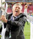 Carlo Ancelotti conquistó la Décima con el Real Madrid. (Foto Prensa Libre: Hemeroteca PL)