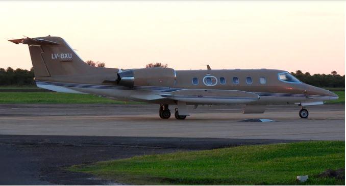 Este es el avión que se estrelló en Esquel (Foto Prensa Libre: Aeropuertoformosa. blogspot.com)