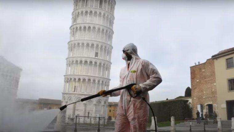 Imagen de la Torre de Pisa en Italia