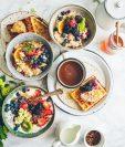 El desayuno es la comida más importante del día porque brinda la energía que se necesita para hacer las actividades programadas. (Foto Prensa Libre: Brooke Lark on Unsplash).
