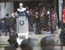 En prisiones de Guatemala también se reportan casos de coronavirus. (Foto Prensa Libre: Hemeroteca PL).