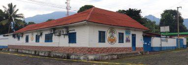 Detectan casos de covid-19 en el Consultorio del  Instituto Guatemalteco de Seguridad Social de Chicacao, Suchitepéquez.  (Foto Prensa Libre: Marvin Túnchez)