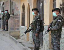 La comuna de San Juan Sacatepéquez ha pedido el apoyo del Ejército en la contingencia. (Foto: Hemeroteca PL)