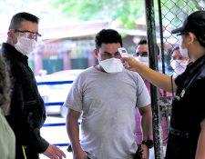 El hospital Roosevelt toman medidas de protección ante el covid-19.(Prensa Libre: Hemeroteca PL)