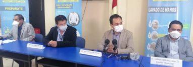 Autoridades de Salud y Departamentales informan del primer caso de coronavirus en San Marcos. (Foto: Whitmer Barrera)