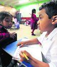 El seguro médico escolar pretende cubrir hasta 2.6 millones de estudiantes de preprimaria y primaria. (Foto Prensa Libre: Hemeroteca PL)