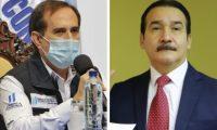 Rodolfo Galdámez y Héctor Marroquín, exviceministros de Salud. (Foto Prensa Libre: Hemeroteca PL)