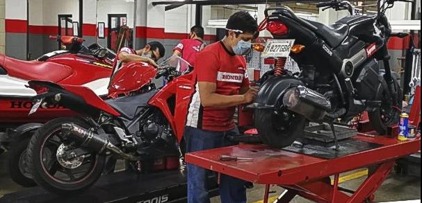 Honda Motos cuida de sus colaboradores y su clientela