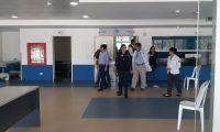 Hospital de Villa Nueva fue habilitado para atender la emergencia sanitaria por el coronavirus. (Foto Prensa Libre: Hemeroteca PL)