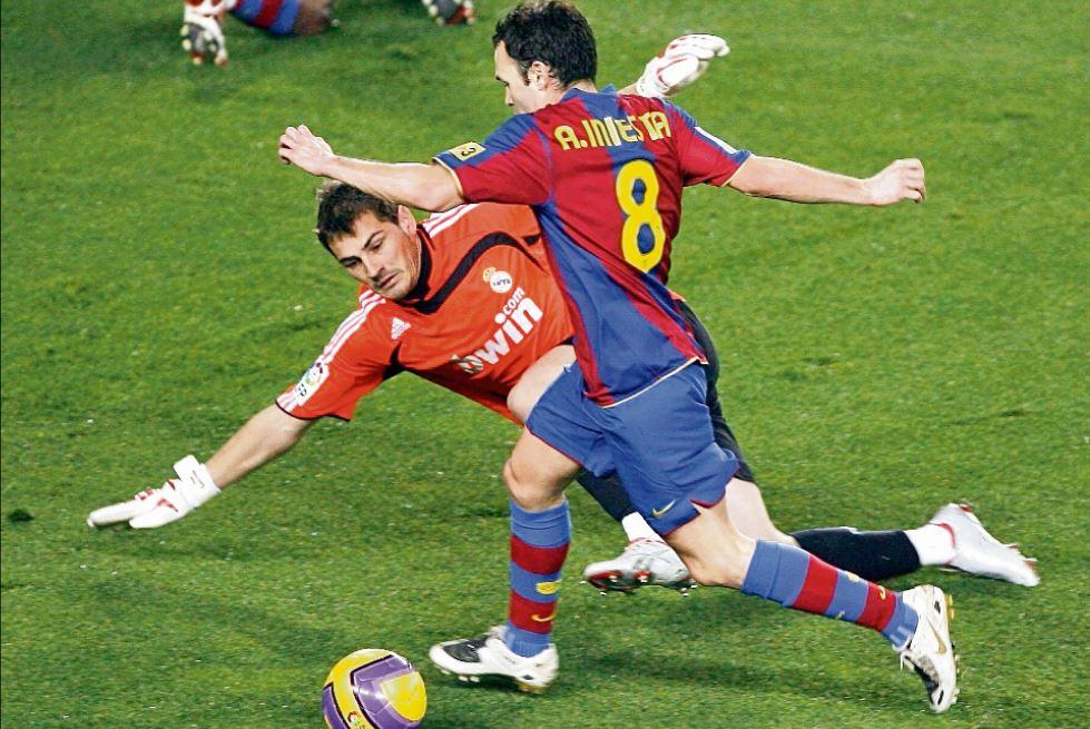 La fotografía de Iker Casillas en el Camp Nou que provocó las burlas de Piqué y Puyol