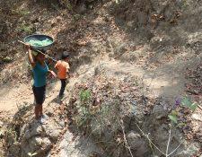 La inseguridad alimentaria afecta principalmente en las áreas rurales, donde la mayoría de la población subsiste de la agricultura familiar. (Foto Prensa Libre: Érick Ávila)