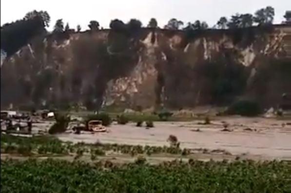 Autoridades de San Miguel Siguilá, Quetzaltenango, están en alerta por el incremento de la lluvia. (Foto Prensa Libre: Conred)