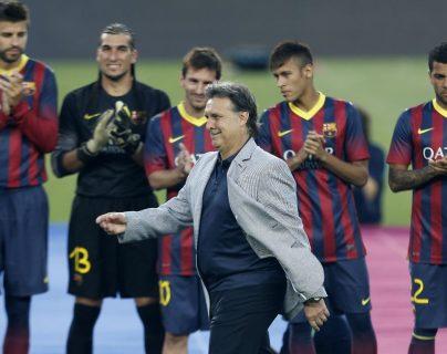 Gerardo Martino, quien dirigió al Barcelona, es ahora entrenador de la Selección de México. (Foto Prensa Libre: Hemeroteca PL)