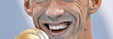Michael Phelps, el atleta más laureado en la historia de los Juegos Olímpicos, lucha contra la depresión. (Foto Prensa Libre: Hemeroteca PL)