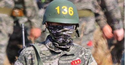Heung-Min Son es fotografiado mientras cumple con el servicio militar en Corea del Sur