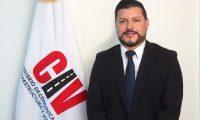 El ministro de Comunicaciones, Josué Edmundo Lemus, podría ser interpelado si no aclara las dudas que envuelven a su ministerio. (Foto Prensa Libre: CIV)