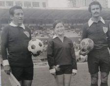 Gloría Ramírez, quien fue la primera mujer árbitro de Guatemala, falleció a los 70 años. (Foto Familia Ramírez).