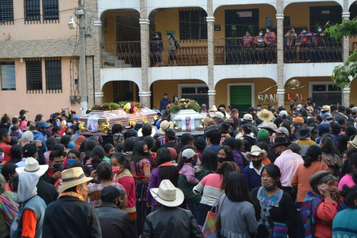 Inhuman a madre y su hija víctimas del conflicto de tierras entre Nahualá y Santa Catarina Ixtahuacán